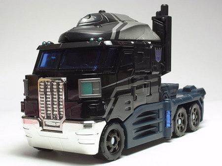 黒いトラック