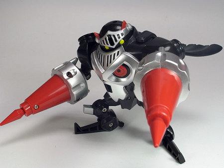 骸骨騎士の攻撃!