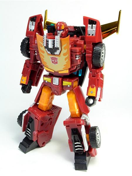 ホットロディマス、ロボットモード