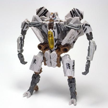 DSMスタースクリーム、ロボットモード