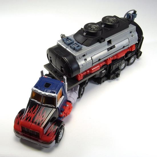 バトルタンカー トレーラー上面