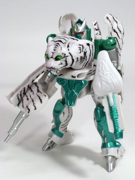 タイガトロン、ロボットモード