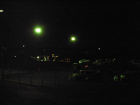 深夜の那須