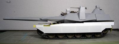 90式戦車G型12月3日現在側面