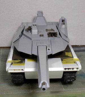 90式戦車G型12月3日現在前面