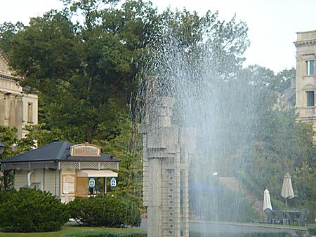 帝国ホテル噴水