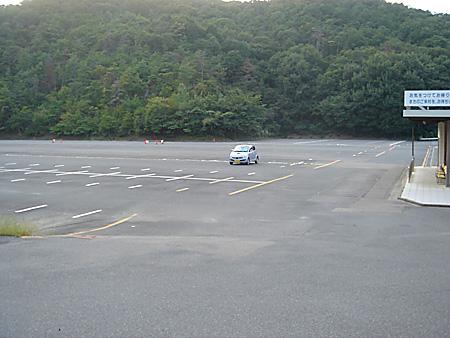 明治村駐車場・・・