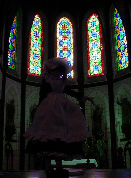 聖ザビエル堂の少女(1)