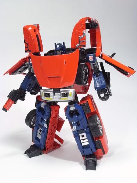 コンボイ、ロボットモード