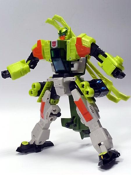 スプラング、ロボットモード