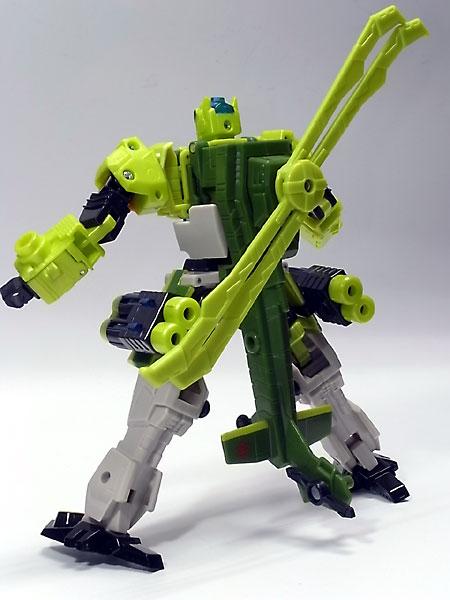 スプラング ロボットモード背面