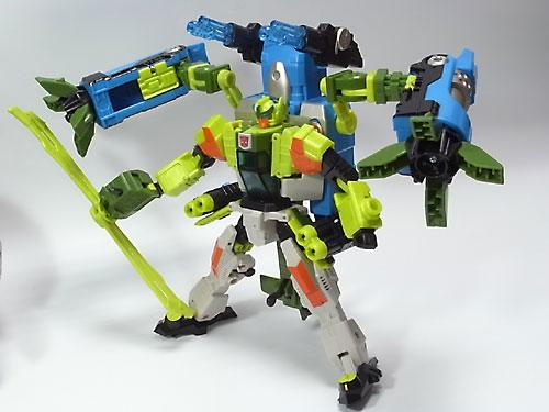 アフターバーナーユニット、展開!